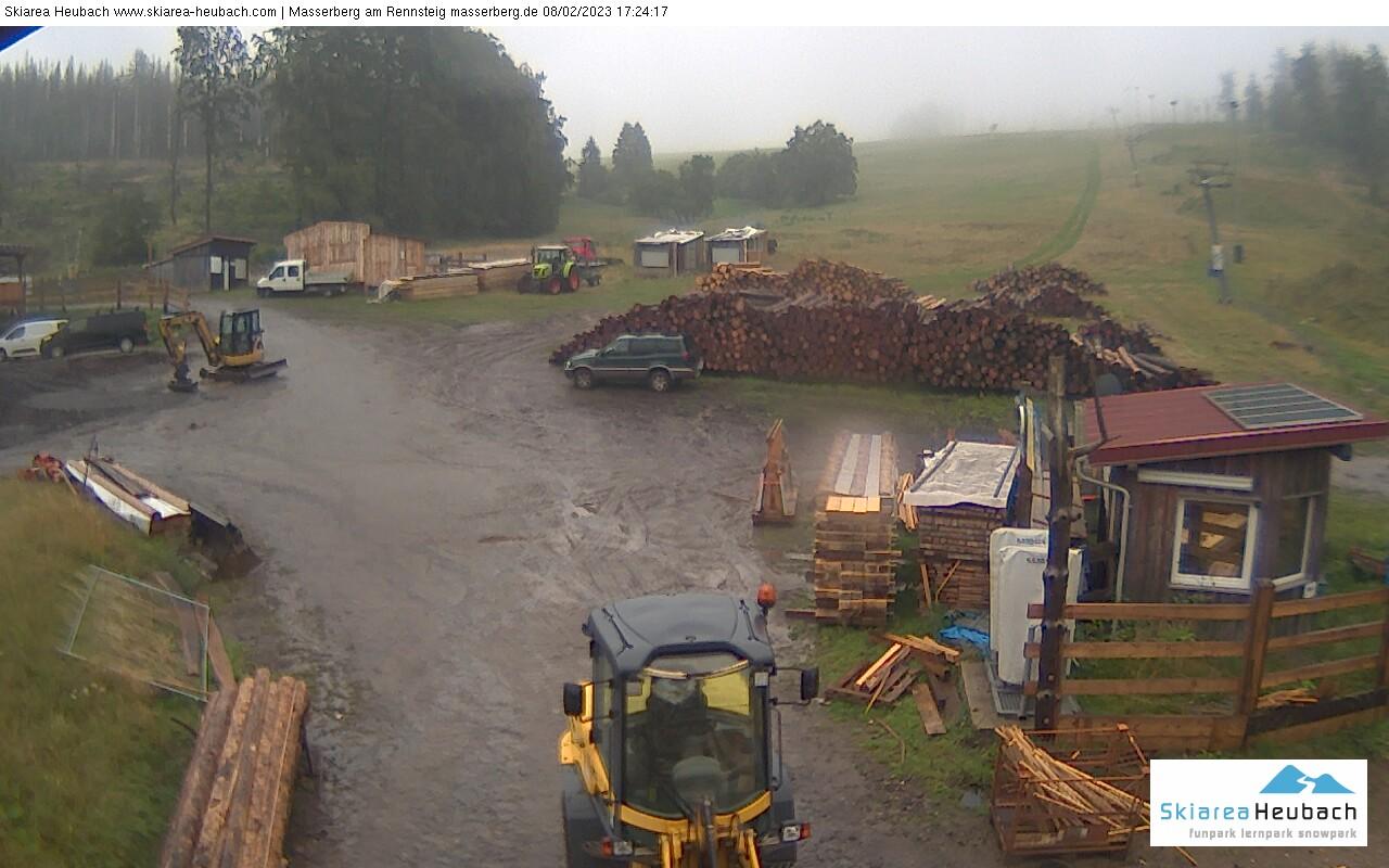 Webcam in der Skiarea Heubach